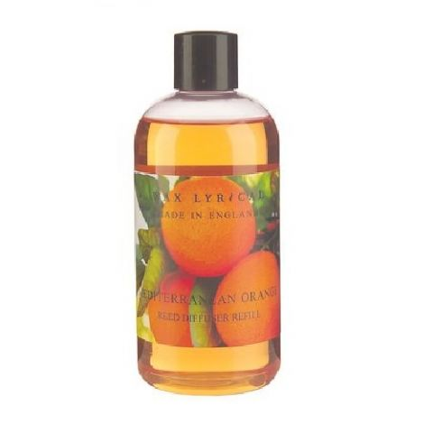 Mediterranean Orange Fragranced Reed Diffuser Refill Made In England Wax Lyrical 250ml